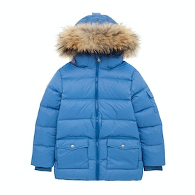 Pyrenex Authentic Mat Fur Prošívaná bunda - Gentiane