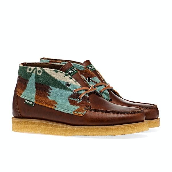 Sebago X Pendleton Tatanka Para Wool ブーツ