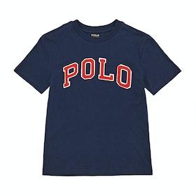 Polo Ralph Lauren Crew Neck Short Sleeve T-Shirt - French Navy