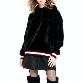 UGG Kailani Sherpa Pullover Hoody - Black