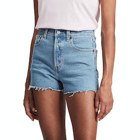 Levi's Ribcage Short Damen Shorts - Tango Stonewash Short