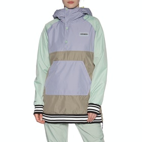 Burton Loyle Anorak Snow Jacket - Aqua Lilac