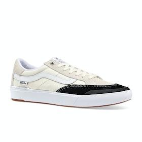 Vans Berle Pro Shoes - Marshmallow Black