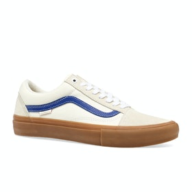 Chaussures Vans Old Skool Pro - Marshmallow Blue Gum