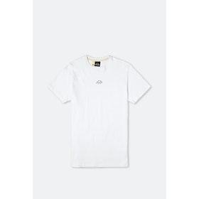 Bleu de Paname MC Pied De Biche S S T-Shirt - Blanc