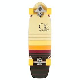 "Surf Skateboard OP Dawn 33"" Complete - Black Orange"