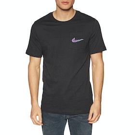 T-Shirt à Manche Courte Nike SB Mini Truckin Pocket - Black