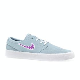 Chaussures Nike SB Zoom Janoski Rm (truckit Pack) - Armory Blue Vivid Purple White