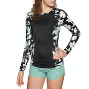 Roxy Fitness Long Sleeve Womens Rash Vest