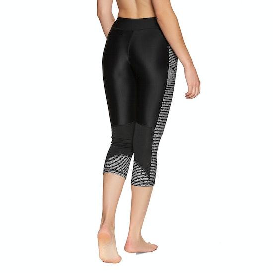 Roxy Fitness Spy Game Capri Womens Leggings