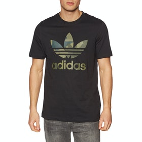 Adidas Originals Camo Infill Short Sleeve T-Shirt - Black
