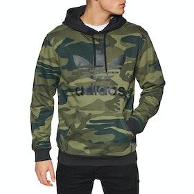 Adidas Originals Camouflage Pullover Hoody - Black