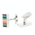 Paul Smith Glitter Stripe Cufflinks
