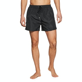 Paul Smith Plain Stripe Swim Shorts - Black