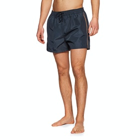 Paul Smith Plain Stripe Swim Shorts - Navy