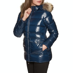 Pyrenex Authentic Shiny Fur Womens Prošívaná bunda - Amiral