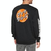 Santa Cruz Other Japanese Dot Crew Sweater