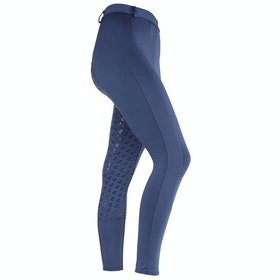 Shires Aubrion Albany Ladies Riding Tights - Blue