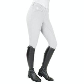 John Whitaker Lyon Crest Performance Ladies Riding Breeches - White