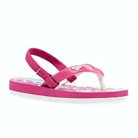 Roxy Tahiti Girls Sandals - Pink Pink