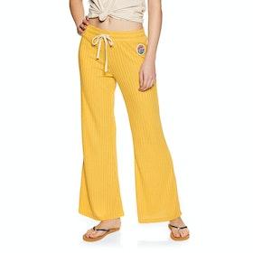 Rip Curl Boardwalk Pant Womens Jogging Pants - Yellow