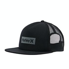 Hurley One & Only Square Trucker Cap - Black