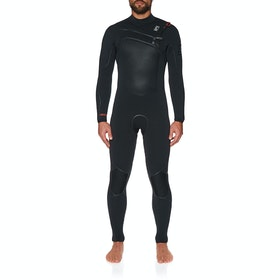 C-Skins HotWired 5/4mm Chest Zip Wetsuit - Black Diamond