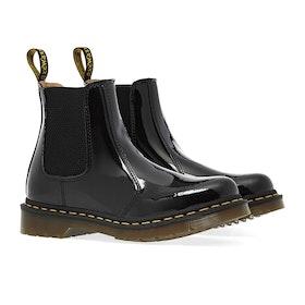 Dr Martens 2976 Patent Lamper Women's Boots - Black