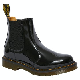 Dr Martens 2976 Patent Lamper Ladies Boots - Black