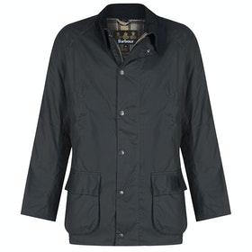 Barbour Bristol Mens Wax Jacket - Navy