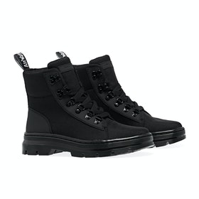 Dr Martens Combs Waterproof Damen Stiefel - Black Ajax