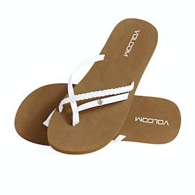 Volcom Thrills Womens Sandals - White