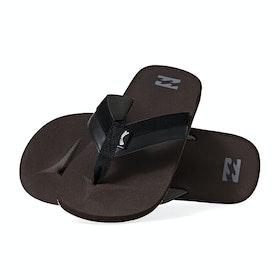 Billabong All Day Impact Sandals - Dark Brown