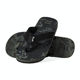 Billabong All Day Theme Sandals - Camo