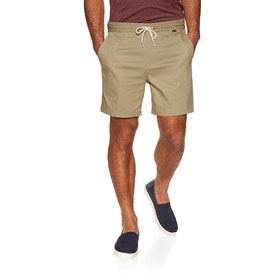 Hurley One & Only Stretch Volley 17' Swim Shorts - Khaki