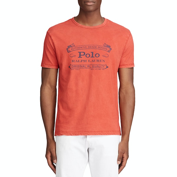 Polo Ralph Lauren Slub Jersey 2 Short Sleeve T-Shirt