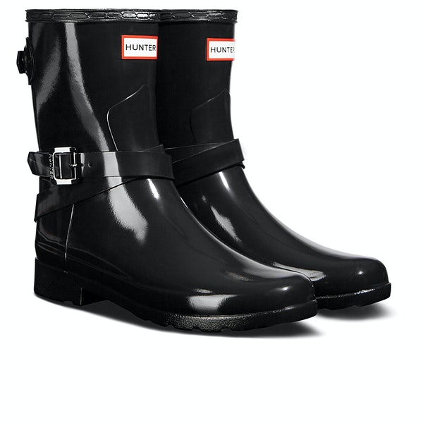 Botas de lluvia Mujer Hunter Ankle Strap Gloss