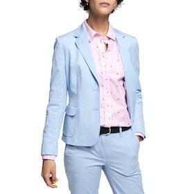 Gant Cotton Broadcloth Women's Blazer - Hamptons Blue