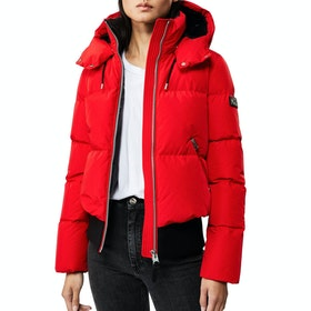 Mackage Aubrie Bomber Women's Down Jacket - Red