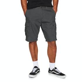Volcom Miter Ii Cargo Short Shorts - Dark Grey