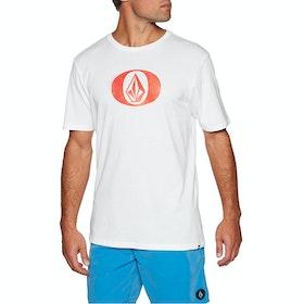 Volcom Elypse , Kortermet t-skjorte - White