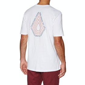 T-Shirt à Manche Courte Volcom Radiation Bsc Ss - White