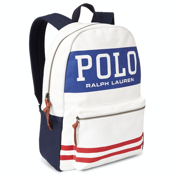 Polo Ralph Lauren Cotton Canvas Big Polo Ryggsekker