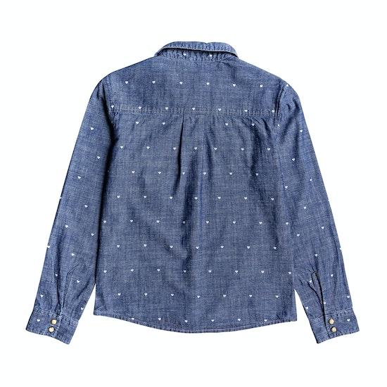 Camisa Girls Roxy Paradisiac Cascade