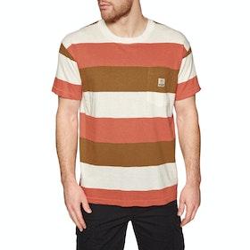 T-Shirt a Manica Corta Deus Ex Machina Alvaro Stripe - Rstcbo