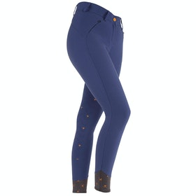Shires Aubrion Carlisle Ladies Riding Breeches - Blue