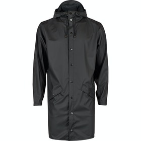 Rains Long Jacke - Black