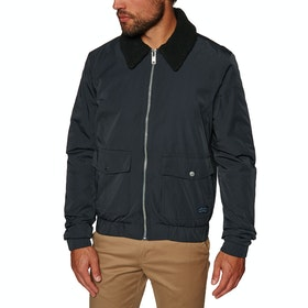 Jack Wills Forton Nylon Aviator Jacket - Navy