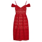 Jack Wills Sleaford Lace Midi Dress