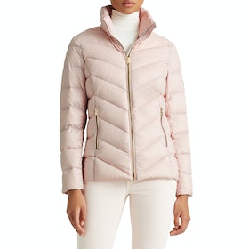 Lauren Ralph Lauren Packable Down Fill Womens Bunda - Blush